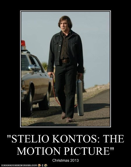 """STELIO KONTOS: THE MOTION PICTURE"""