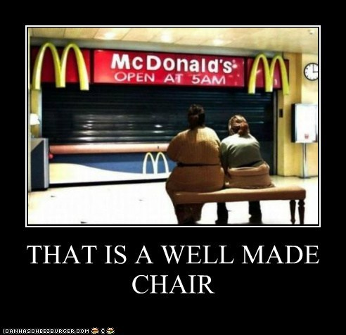 THAT IS A WELL MADE CHAIR