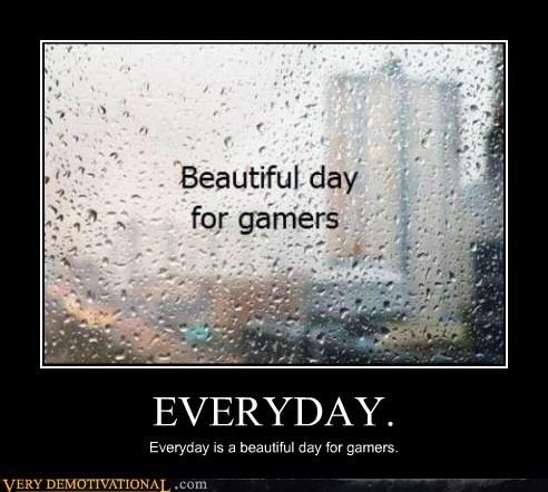 beautiful,gamers,hilarious,rain