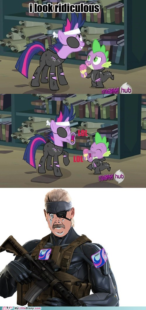 Twilight Was Snake's Favorite Pony