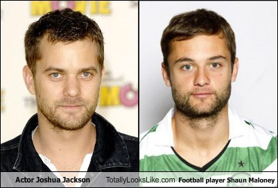 Actor Joshua Jackson Totally Looks Like Football player Shaun Maloney