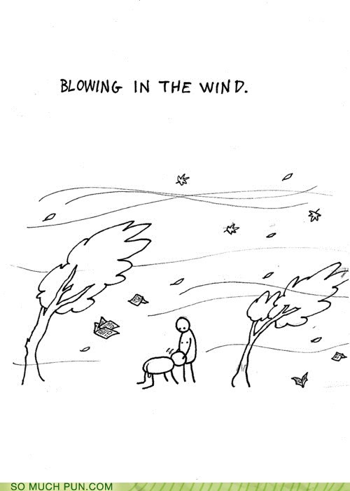 blowing,blowing in the wind,bob dylan,double meaning,literalism,song,wind