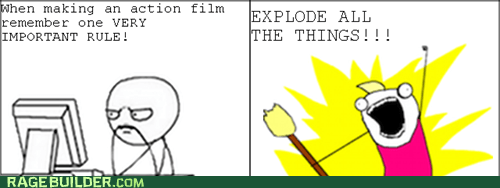 Rage Comics: Get ALL the Actors Sweaty!