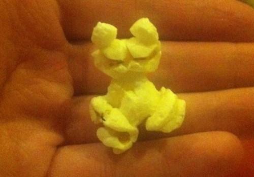Popcorn Pareidolia of the Day