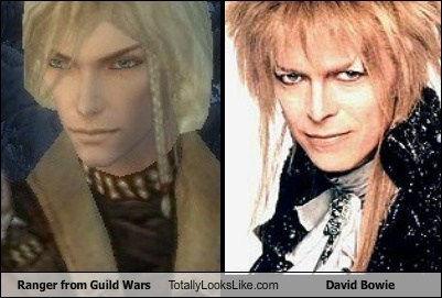 Ranger from Guild Wars Totally Looks Like David Bowie