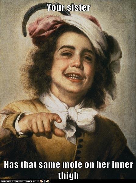 art,color,funny,painting,portrait