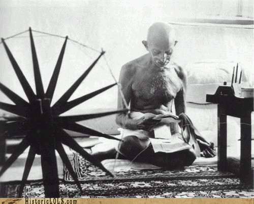 This Day in History: Gandhi Leads Civil Disobedience in India