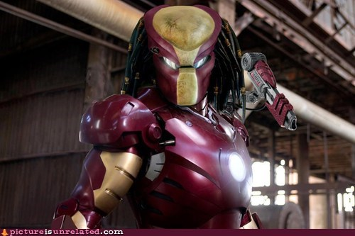 best of week,iron man,Movie,Predator,wtf