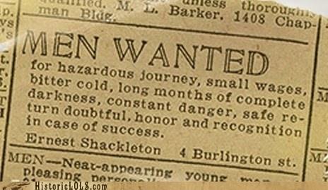 Ad,ernest shackleton,history,news,print
