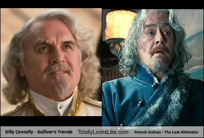 Billy Connolly - Gulliver's Travels Totally Looks Like Francis Guinan - The Last Airbender