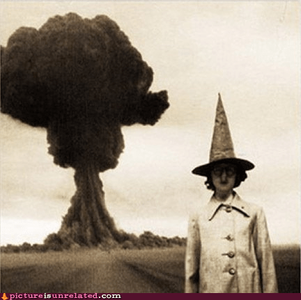 Cool Witches Don't Look at Explosions