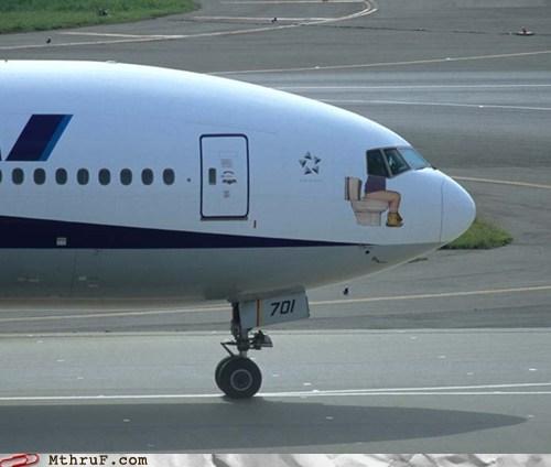 airplane,flight,lavatories,plane