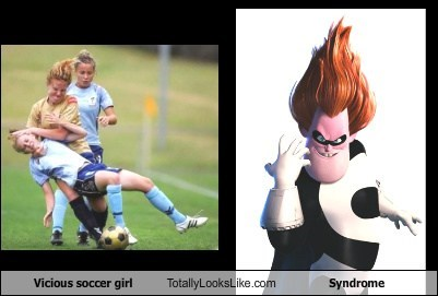 Vicious Soccer Girl Totally Looks Like Syndrome