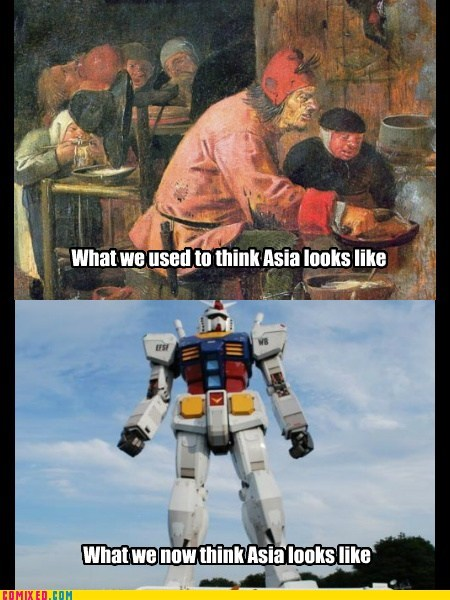 Anime and Robots Everywhere