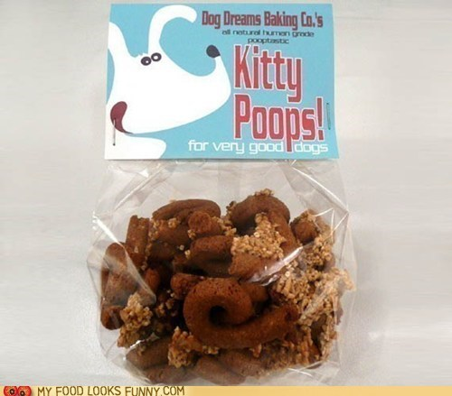 Kitty Poops Dog Treats