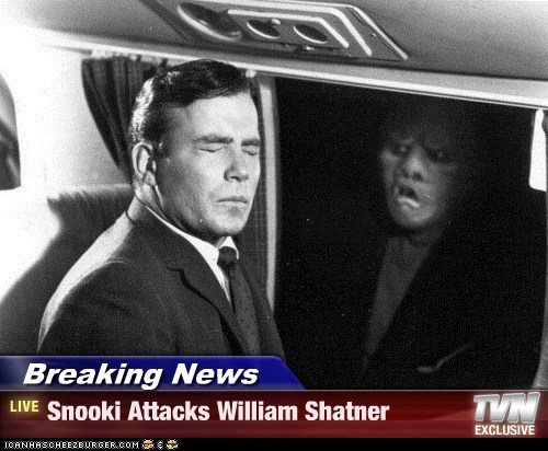 attack,gremlin,Shatnerday,snooki,twilight zone,William Shatner