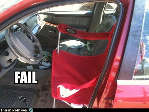 car fail,car seat,front seat