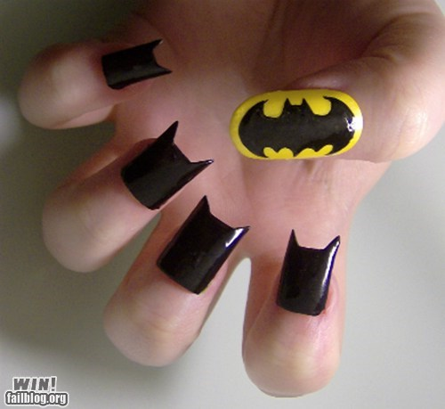 Batman Nails WIN