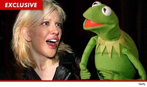 Courtney Love Vs. The Muppets of the Day
