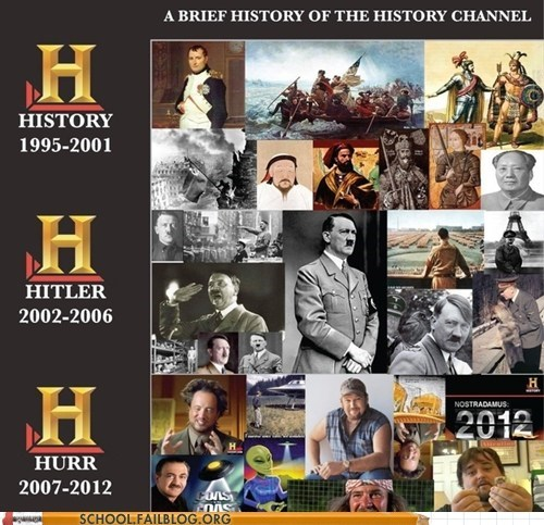 Totally Accurate History 200: Tonight's Homework is to Watch Ancient Aliens