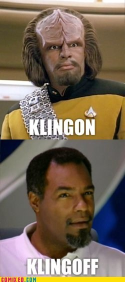Worf Does Not Approve