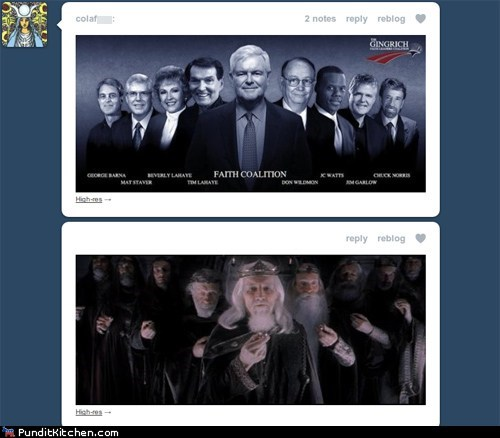 geek,Lord of the Rings,newt gingrich,political pictures,Republicans