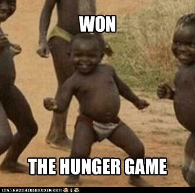 books,catching fire sucks though,hunger games,Third World Success Kid