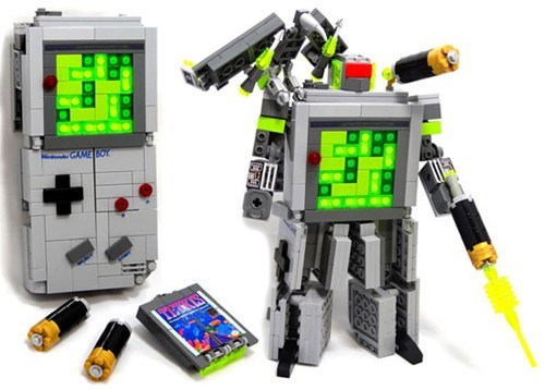 Lego Game Boy Transformer of the Day