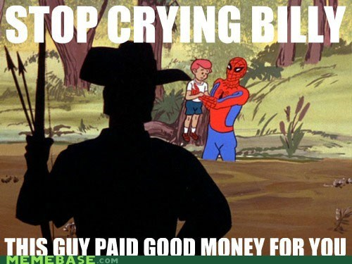Spidey Is Working With Kony?