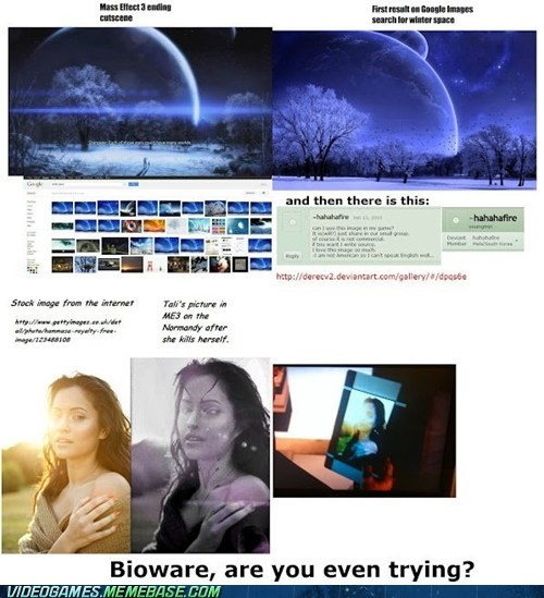BioWare,ending,google images,i give up,mass effect,mass effect 3,stock images