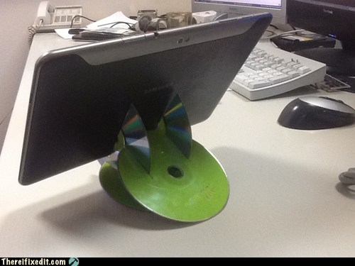 Tablet CD Stand