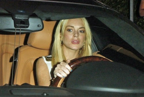 Lohan Hit And Run of the Day
