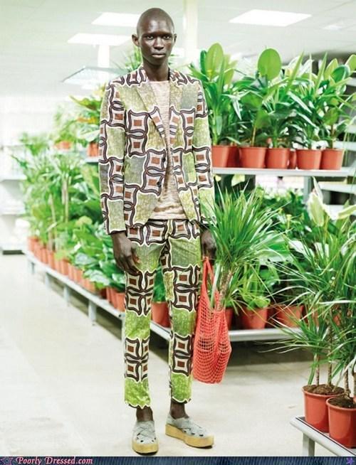 organic,pattern,plant suit,plants,store,suit,tall