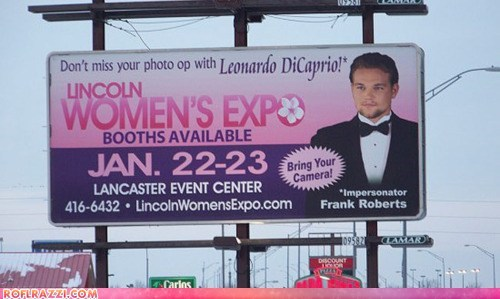 Get Your Photo Taken With Leonardo DiCaprio!*