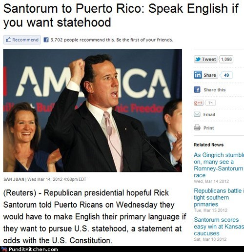 english,political pictures,puerto rico,Rick Santorum,spanish