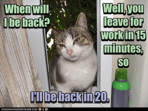 Lolcats: HABZ U LEFT YET?