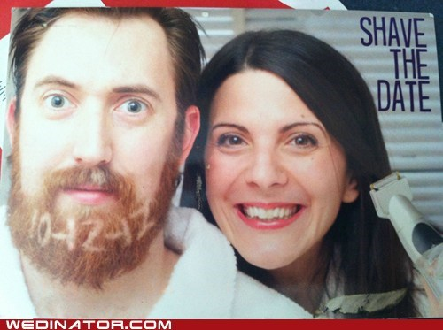 funny wedding photos,Hall of Fame,save the date,shave the date