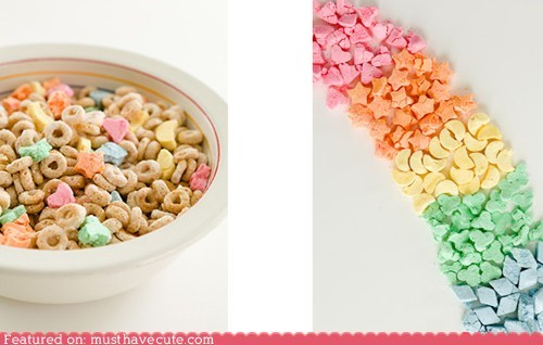 colorful,epicute,lucky charms,marshmallows