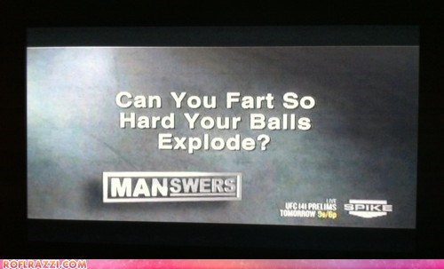 Spike TV Asks The Tough Questions...