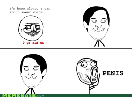 Rage Comics: No More Pee-Pee for Me