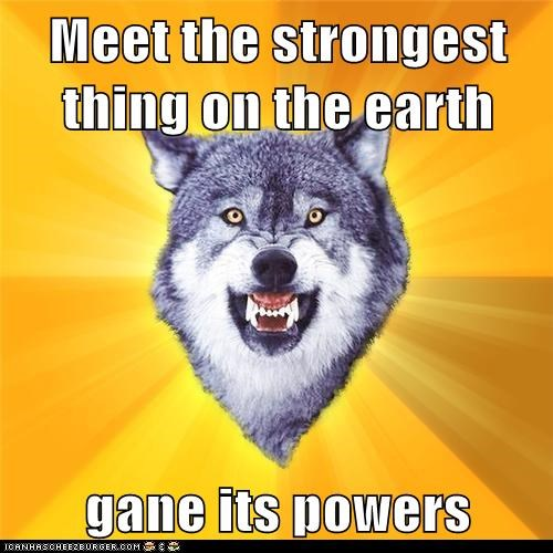 Meet the strongest thing on the earth   gane its powers