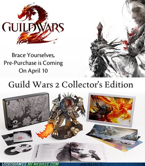 collectors-edition,guild wars,guild wars 2,news,PC,pre-purchase,video games
