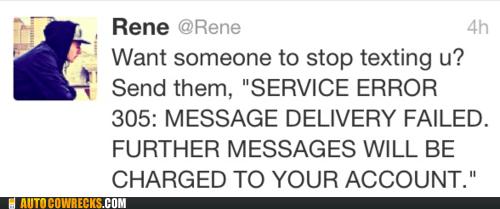 error message,prank,stop texting,tweet,twitter