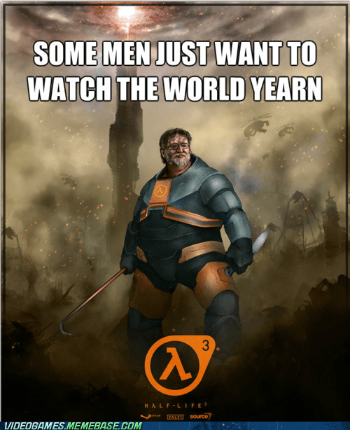 Valve Announces Half-Life 3 Not Announced Yet