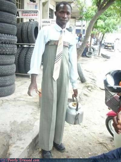 Your Pants Can Never Be Too High