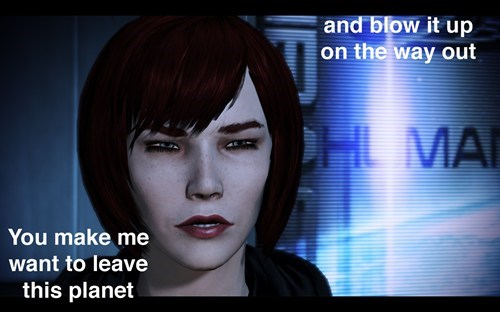 Renegade Shepard: Will leave and blow it up