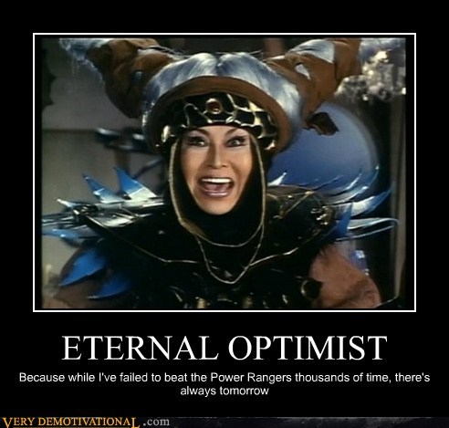 hilarious,optimist,power rangers,villian