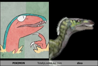 POKIMON Totally Looks Like dino