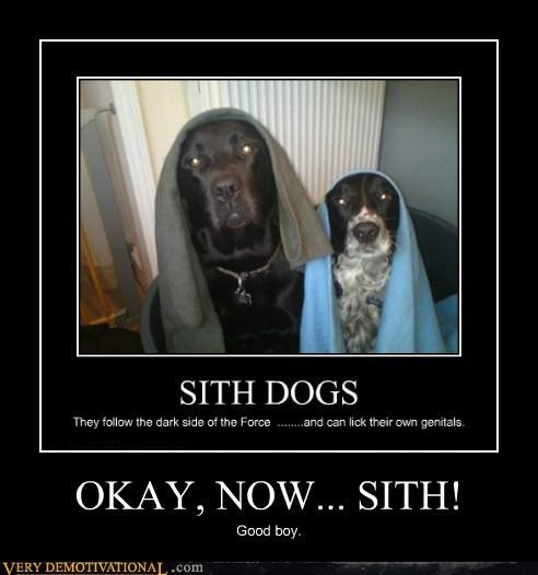 OKAY, NOW... SITH!
