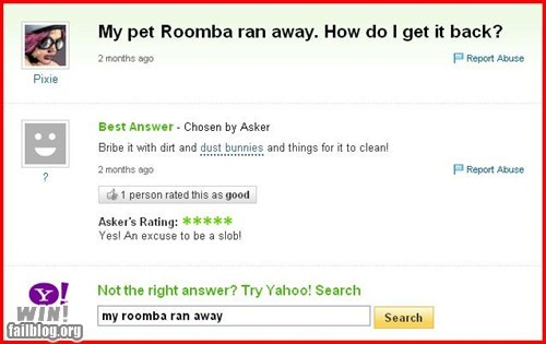 Pet Roomba WIN